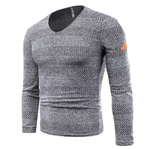 Leisure Ripped Hole Knitted Sweater - IVEgoods
