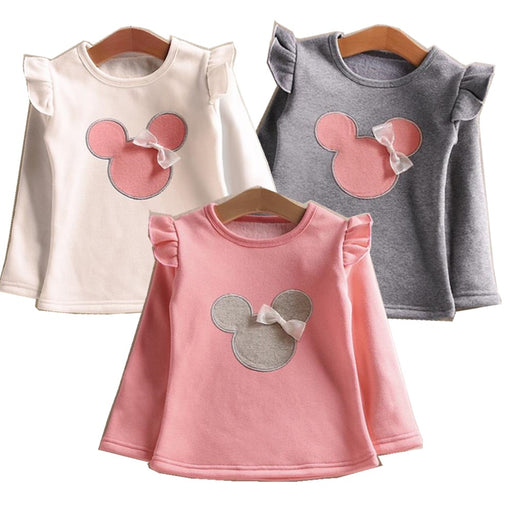 Minnie Bow Long Sleeve T-Shirt - IVEgoods