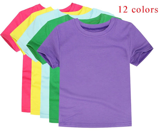 Short Sleeve Cotton Blanket T-shirts - IVEgoods