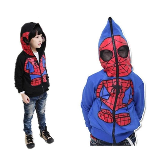 Spiderman Cartoon Spandex Hoodie - IVEgoods