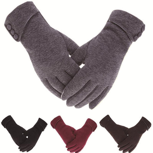 Cashmere Touch Screen Windproof Glove - IVEgoods