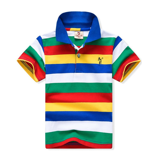 High Quality Stripe Cotton Boys T-Shirts - IVEgoods