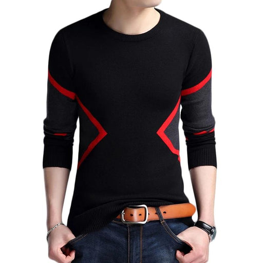 Breathable Slim Fit Knitted Sweater - IVEgoods