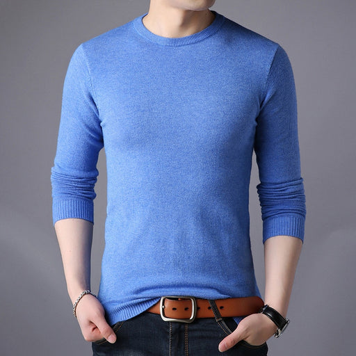 Wool O-Neck Knitted Sweaters - IVEgoods