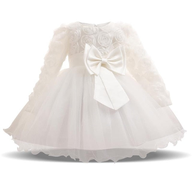 Cute Baby Long sleeves Princess Dress - IVEgoods