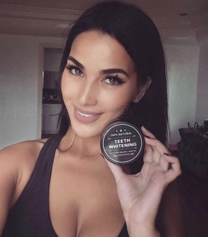 Bundle of 3 Charcoal Teeth Whitening Powder