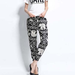 Printed Elephant / Harem Pants