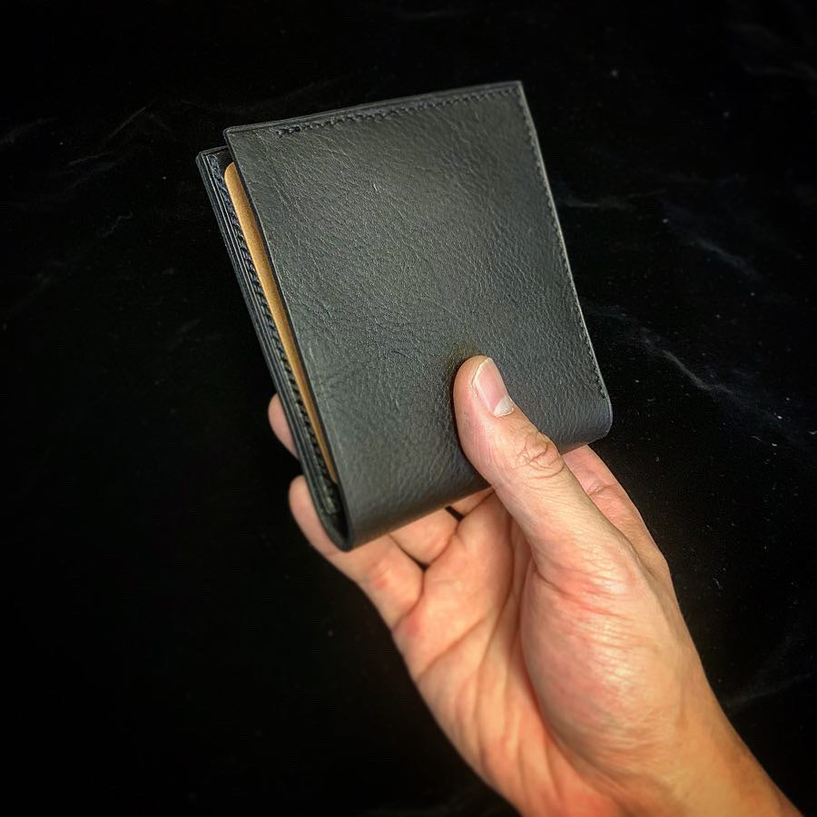 Craftsman Select - Leather wallet (Minerva Box(Nero) + Buttero)