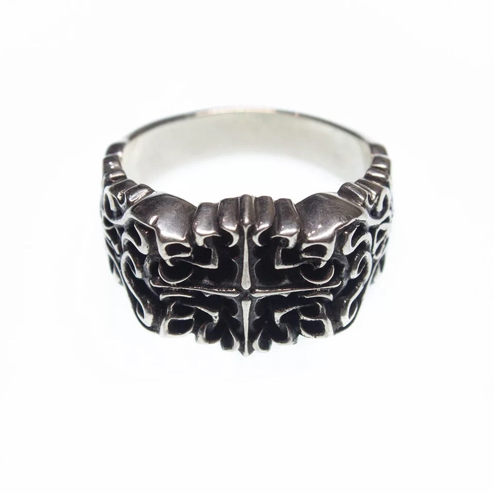 Hand Sculpted Baroque Artistic Style Ring
