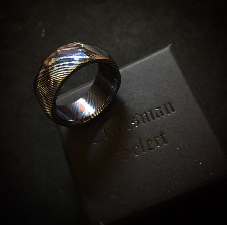 Craftsman Select Feature - Hexagonal Timascus Ring