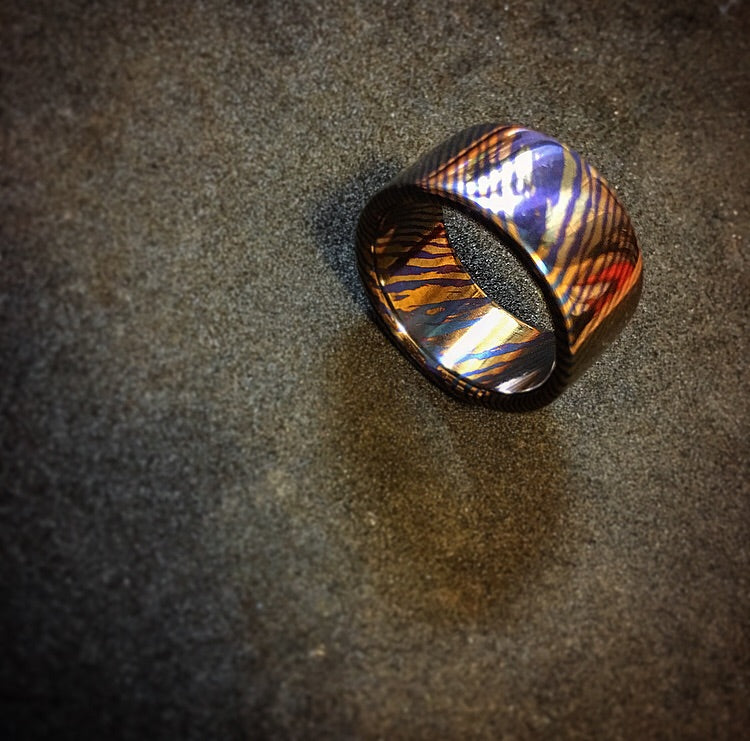 Craftsman Select Feature - Timascus Band Ring