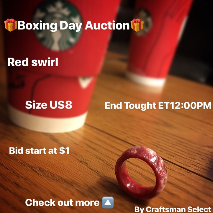 12/26/2017 Auction - Red Swirl