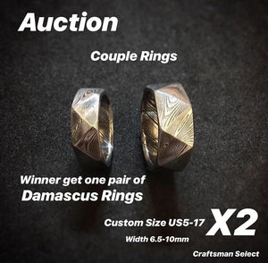 5/4/2018 Diamond Cut Couple Rings Auction