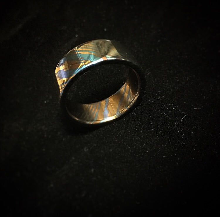 Craftsman Select Feature Timascus Band Ring CraftsmanSelect