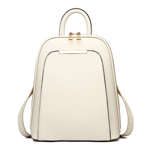 Chic zipper backpack