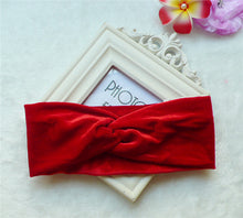 Trendy twisted velvet headband