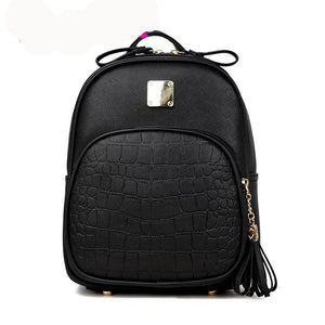 Stylish serpentine backpack