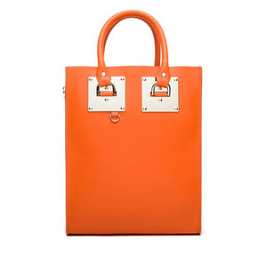 Stylish large genuine leather tote bag