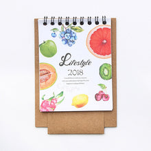 Cute 2018 animal mini calendars