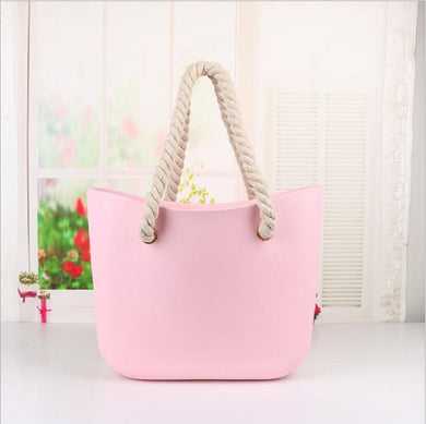 Silicone waterproof shoulder bag