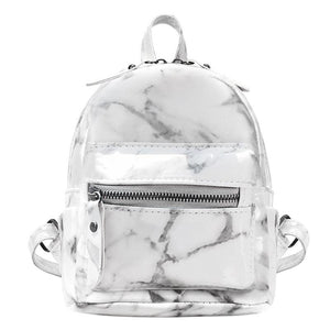 Trendy marble backpack