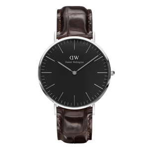Daniel Wellington Classic York Silver Watch