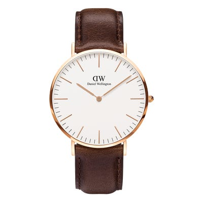 Daniel Wellington Classic Bristol Rose gold Watch