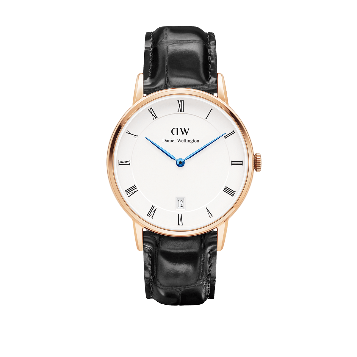 Daniel Wellington Dapper Reading Rose gold Watch