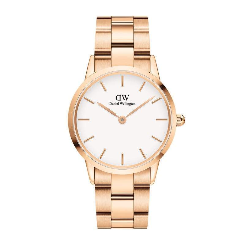 Daniel Wellington Iconic Link Rosegold Watch