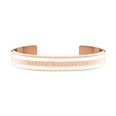 Daniel Wellington Classic Bracelet Satin White in Rosegold