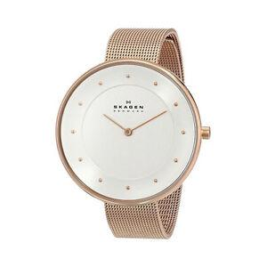 Skagen Gitte Rose Gold Ladies Watch SKW2142