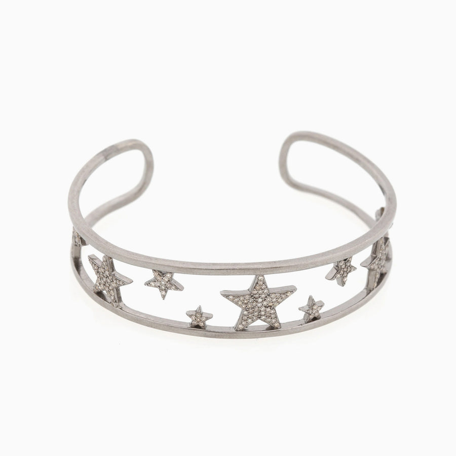 Diamond Star Cuff Bracelet