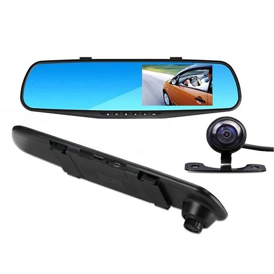 RearView Pro Dash Cam Mirror with Dual Lens Full HD 1080P Car Accessories - BKR Design