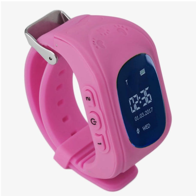 KidSafe: Location Tracking Smart Watch for Kids