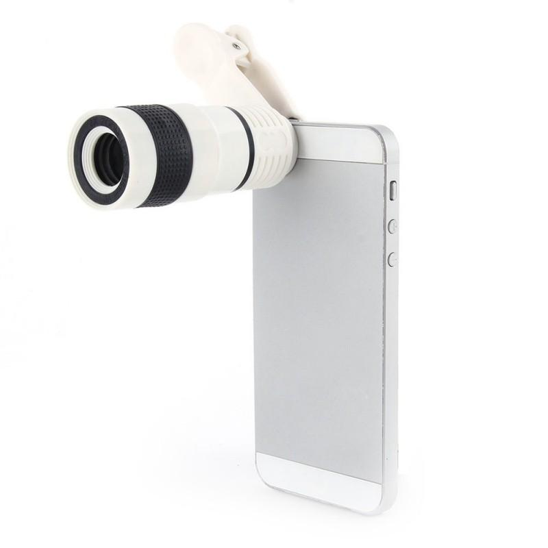 UltraZoom 8x Telescope Universal Camera Lens Phone Accessories - BKR Design