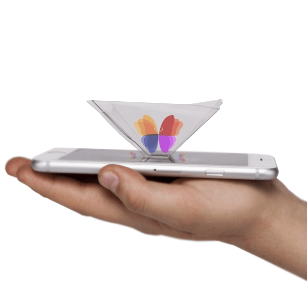 3D Hologram Pyramid - Work with all Smart Phones