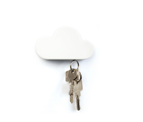 Cloud Shaped Magnetic Key Holder Novelty - BKR Design