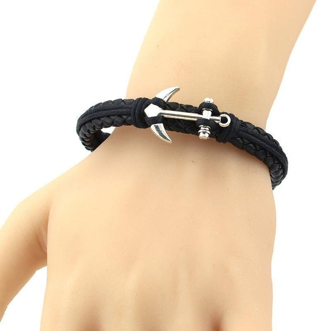 European Style Braided Leather Bracelet Jewellery - BKR Design
