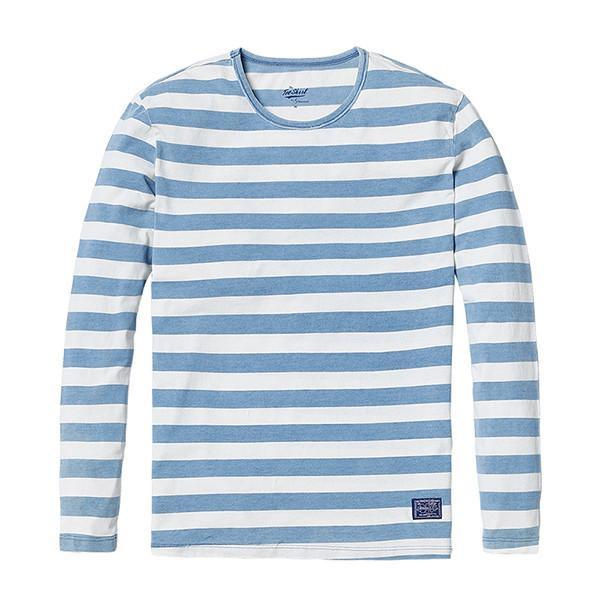 Classic Long-sleeved Striped Shirt Shirt - BKR Design