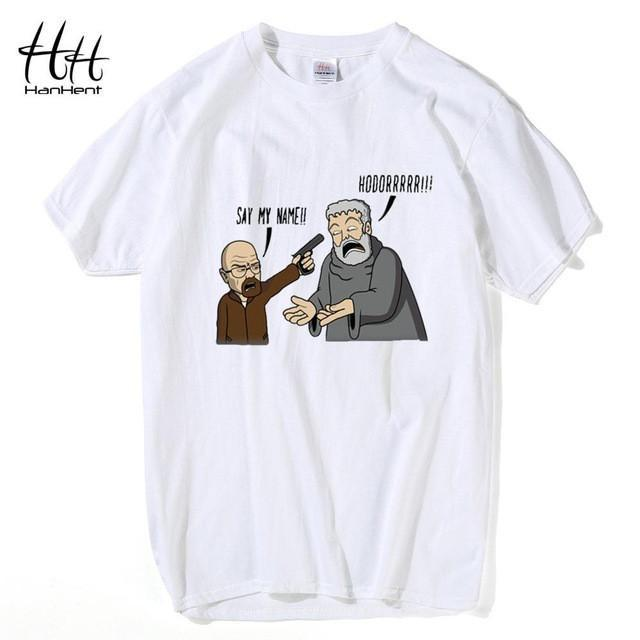 Hodor & Heisenberg T-Shirt - Breaking Bad meets Game of Thrones