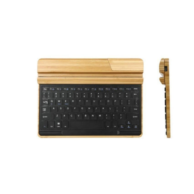 Wooden Bamboo - Wireless Bluetooth Keyboard - Mac/PC/iPad/Smartphone