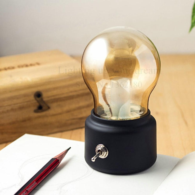 Vintage Light Bulb LED Lamp