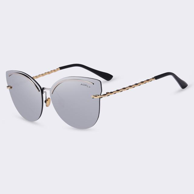 AOFLY Rimless Sunglasses