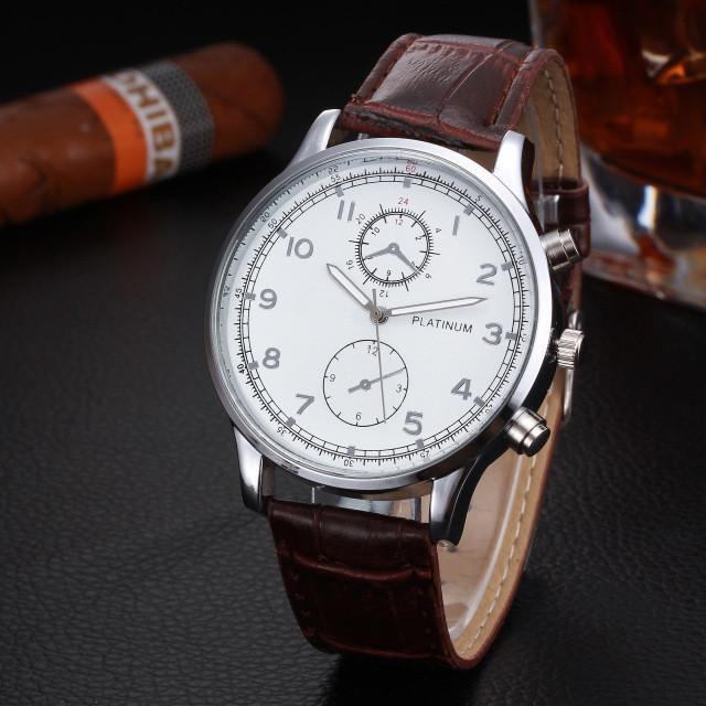 Clean & Professional Classic Business Watch