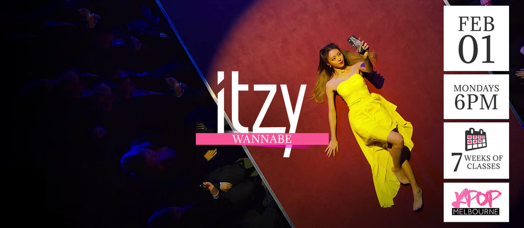 Wannabe by ITZY KPop Classes (Mondays 6pm) Term 1 2021 - 7 Weeks Enrolment