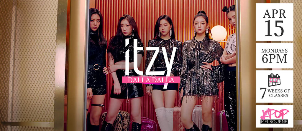 Dalla Dalla by Itzy KPop Classes (Mondays 6pm) Term 5 2019 - 7 Weeks Enrolment