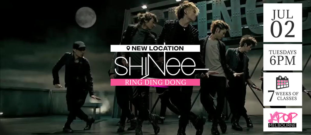 Ring Ding Dong by SHINee KPop Classes (Tuesdays 6pm) Term 8 2019 - 7 Weeks Enrolment