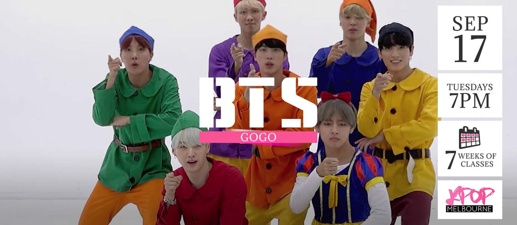 Gogo by BTS KPop Classes (Tuesdays 7pm) Term 11 2019 - 7 Weeks Enrolment