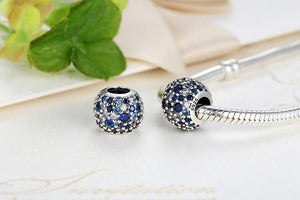 Cosmic Charm, Multi-Colored Crystals & Clear CZ  for Pandora Bracelets
