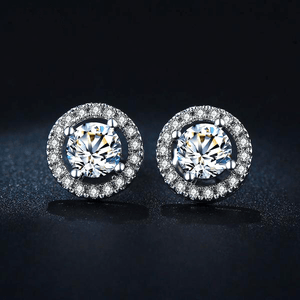 Luxury Crystal Stud Earrings